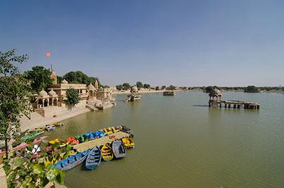 Gaddisar Lake  ,   Jaisalmer  ,   Rajasthan