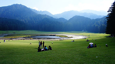Khajjiar Valley ,  Himachal Pradesh ,  India