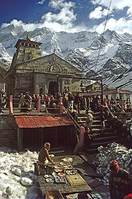 Kedarnath temple, Uttaranchal, India