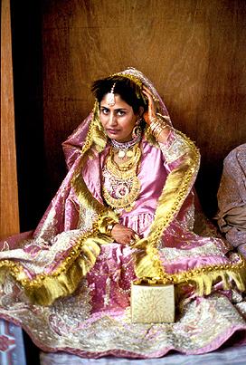 Indian bride  ,  India