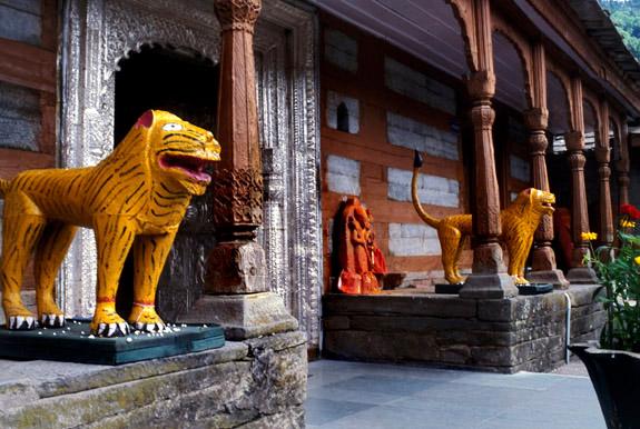 Temple , Sarahan , Himachal Pradesh , India