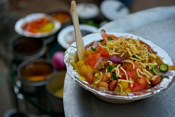 Chaat Vendor,Indian Street Food