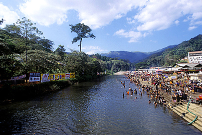 Pamba River is the third longest river in Kerala ,  India