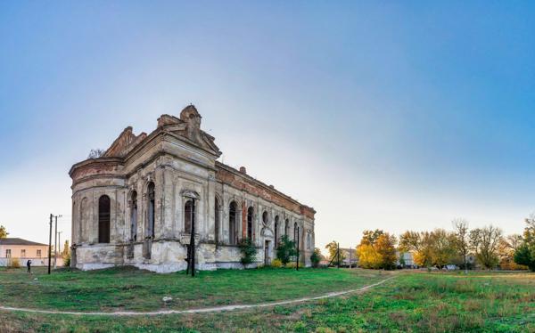 Abandoned Zelts Catholic Church, Ukraine